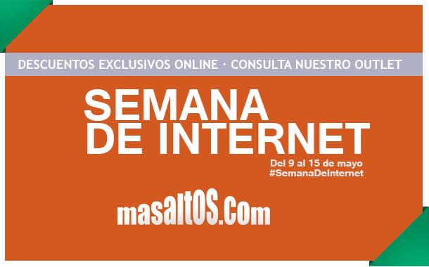 Llega la Semana de Internet a Masaltos.com