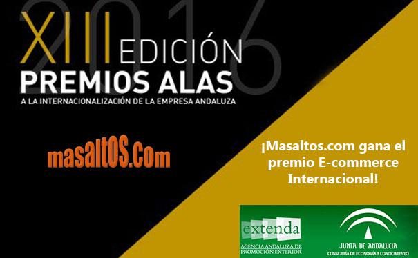 Masaltos.com se alza con el premio ALAS 2016