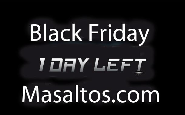 Black Friday at Masaltos.com