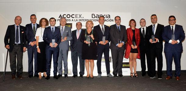 Masaltos.com premio nacional a la internacionalización ACOCEX