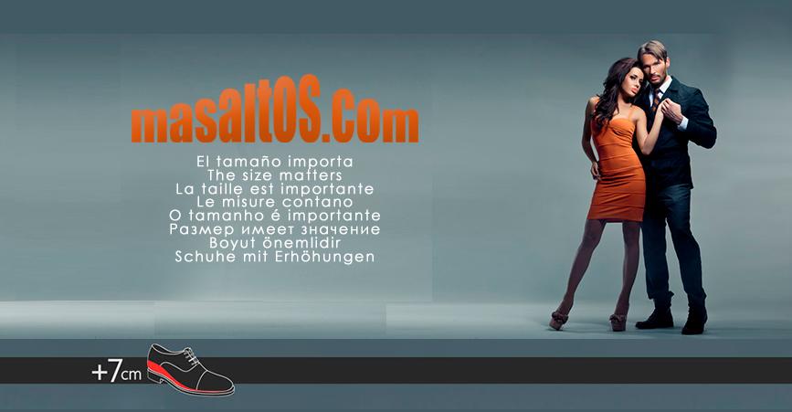 Bienvenidos al blog de zapatos con alzas de Masaltos.com