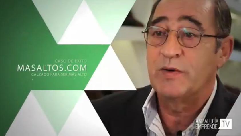TVE1 Emprende program reporters interviewed Masaltos.com enterprise.