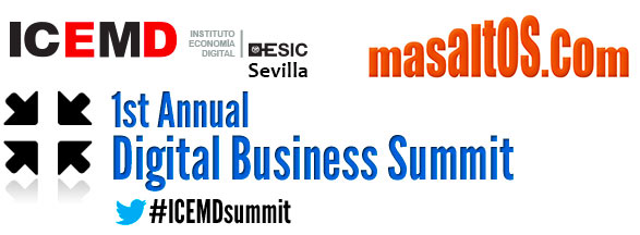 Masaltos.com opened the Digital Business Summit First Edition in Seville
