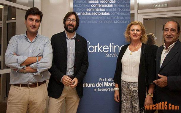 Masaltos.com attended Foro Marketing Seville closing ceremony