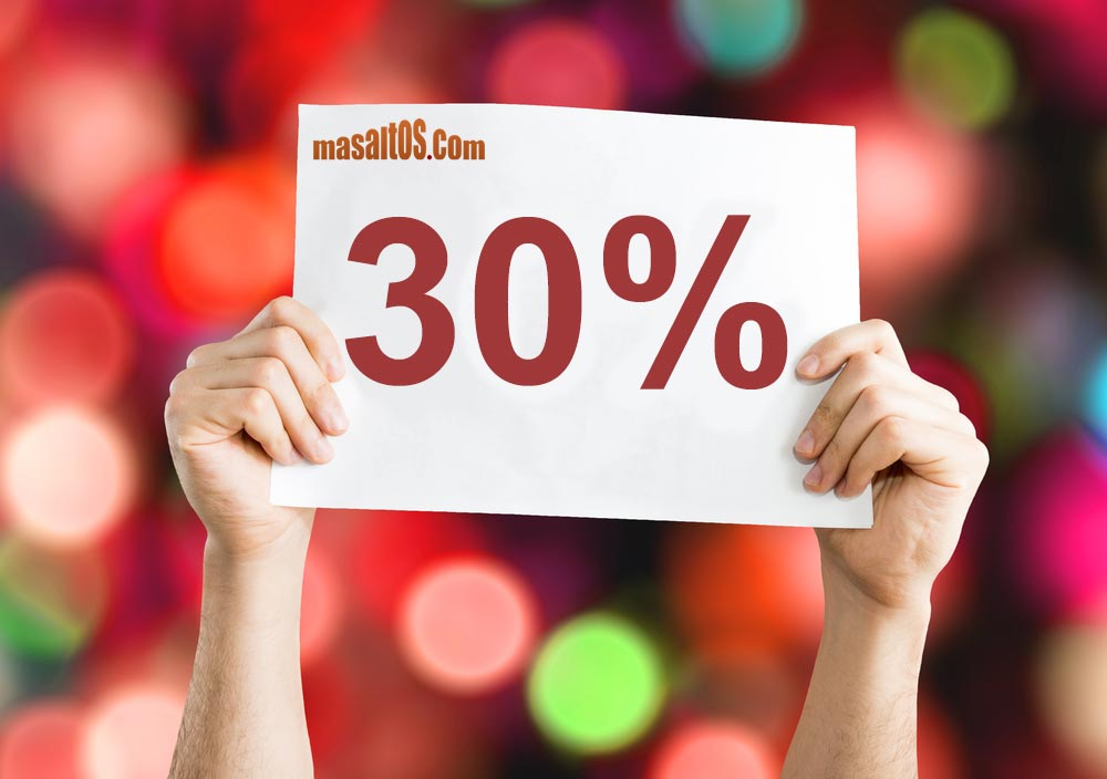 Don´t miss the winter sale at Masaltos.com!