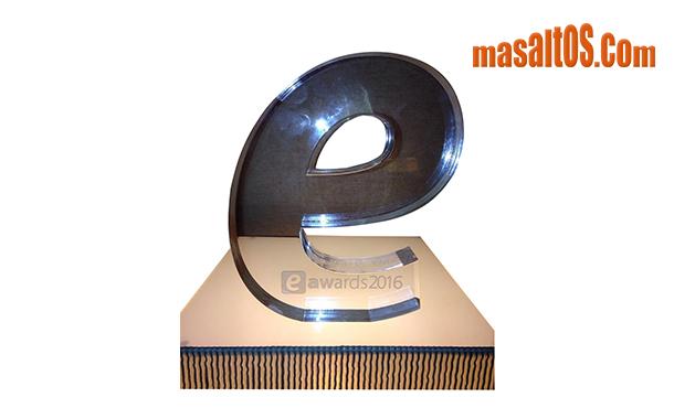 Masaltos.com recibe el premio especial de los eAwards Barcelona 2016