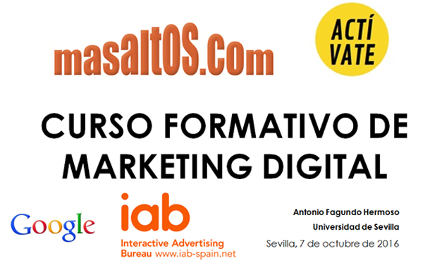 Masaltos.com afianza su alianza formativa con Google Actívate