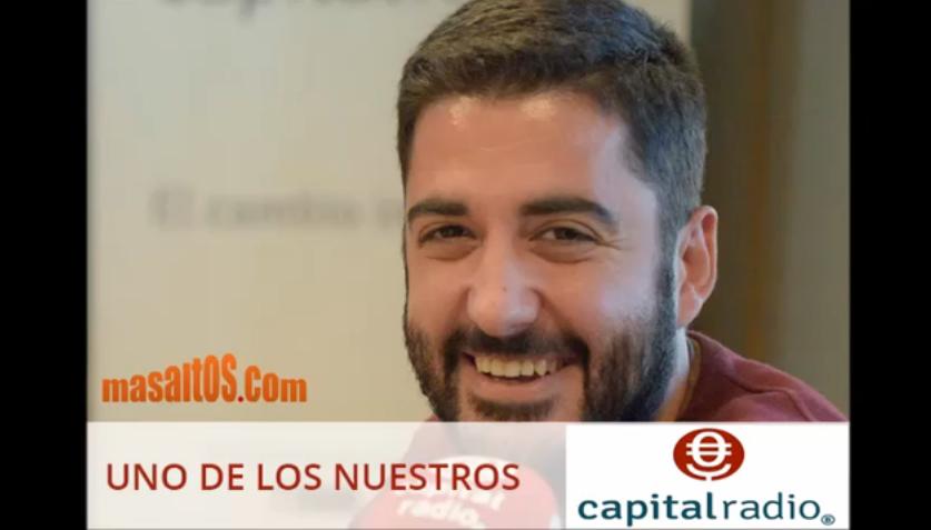 Entrevista a Masaltos.com en el programa Uno de los Nuestros de Capital Radio