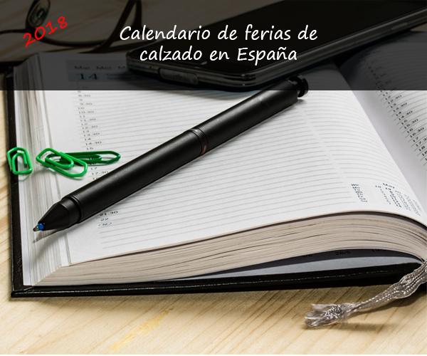 Calendario de ferias de calzado en España 2018