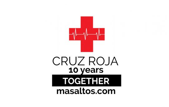 10 years collaborating with Cruz Roja