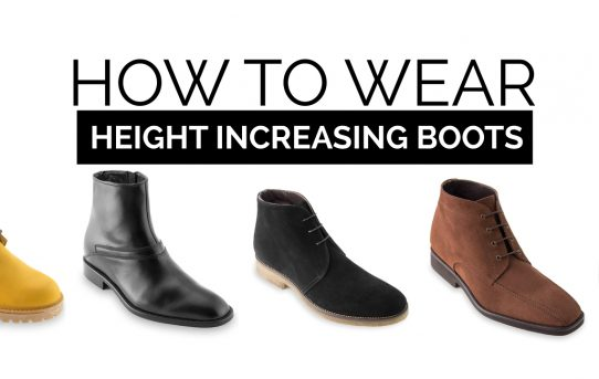 How to wear height increasing boots