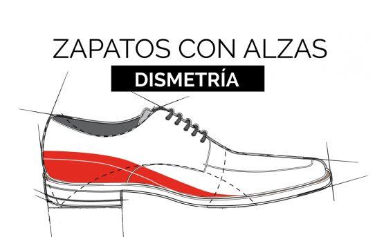 ¿Cómo solucionar una dismetría? Con zapatos con alzas.