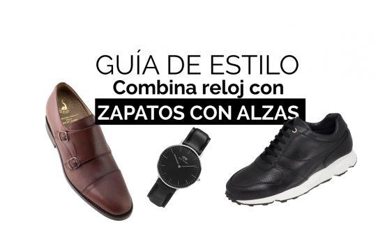 4 FORMAS DE COMBINAR TUS ZAPATOS DE MASALTOS.COM CON TU RELOJ