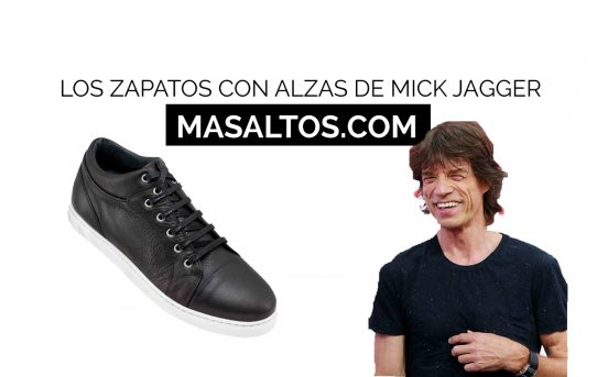 Los zapatos con alzas de Mick Jagger