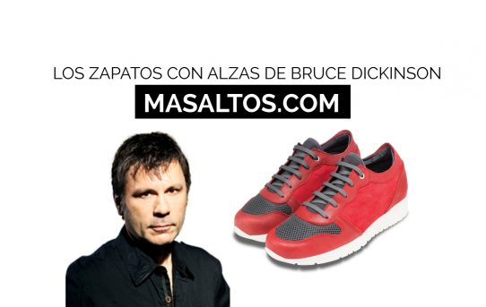 Los zapatos con alzas de Bruce Dickinson