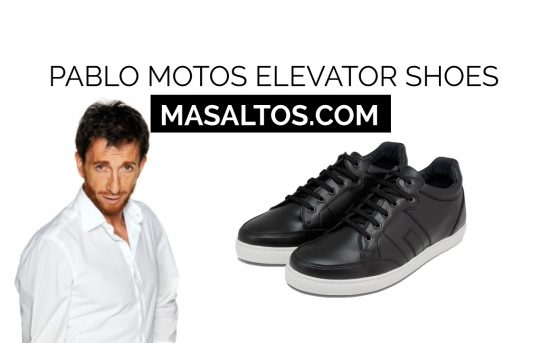 Pablo Moto's elevator shoes