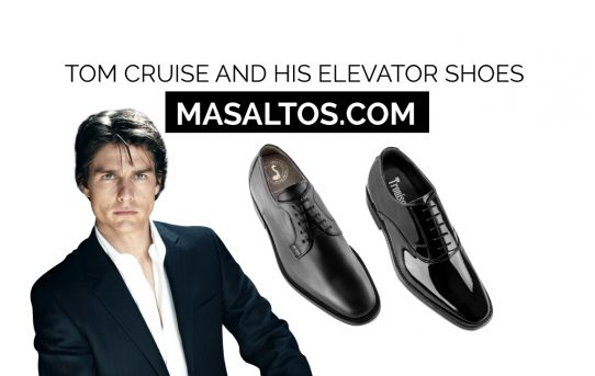 Tom Cruise elevator shoe's