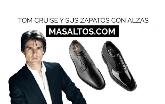 Los zapatos con alzas de Tom Cruise
