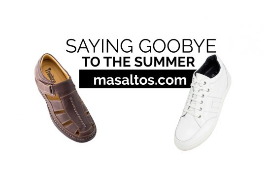 Saying goodbye to the summer with these two models of Masalto