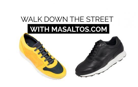 Walk down the street 7 cm taller