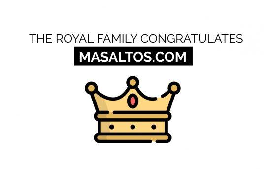 King Felipe VI congratulates Masaltos.com for its 25th anniversary on the internet