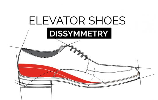 How to solve a dysmetry? With elevator shoes.