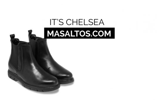 IT'S CHELSEA: Boots to be 7 cm taller
