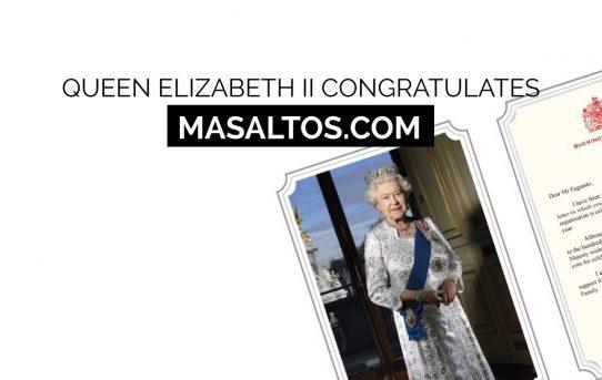 Happy Birthday Masaltos.com, The Queen