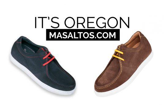 IT'S OREGON: zapatos que te harán más alto