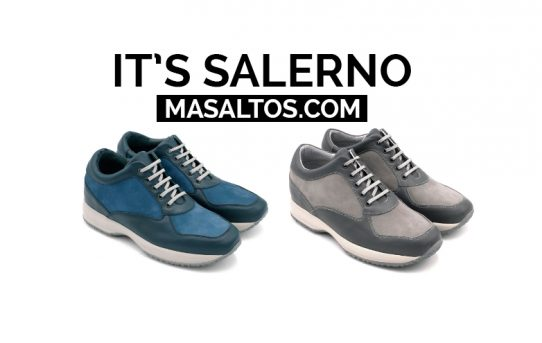 IT'S SALERNO: sneakers that will make you look Taller.