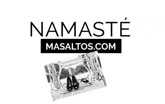Namasté desde Masaltos.com