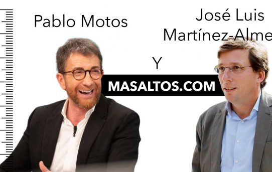 Los zapatos con alzas de Pablo Motos y de José Luis Martínez-Almeida
