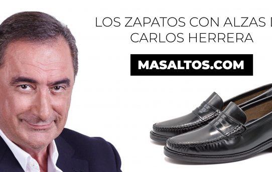 Los zapatos con alzas de Carlos Herrera