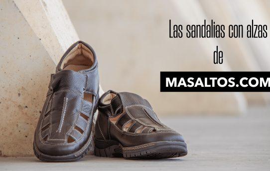 Las sandalias con alzas de Masaltos.com