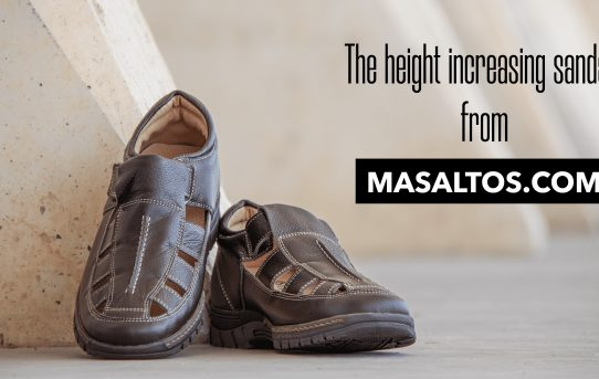 The height increasing sandals from Masaltos.com