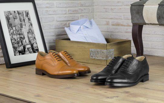 Los zapatos elevadores con cordones de Masaltos.com